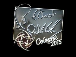 Наклейка | f0rest (металлическая) | Кёльн 2015
