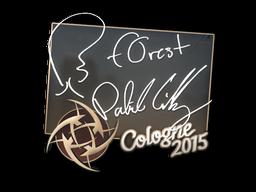 Наклейка | f0rest | Кёльн 2015