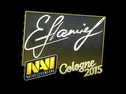 Наклейка   flamie   Кёльн 2015