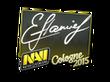 Sticker flamie   Cologne 2015