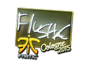 Sticker | flusha (Foil) | Cologne 2015