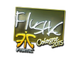 Sticker flusha (Foil) | Cologne 2015
