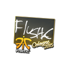 Sticker | flusha | Cologne 2015
