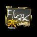 Sticker | flusha | Cologne 2015