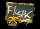 Sticker   flusha   Cologne 2015