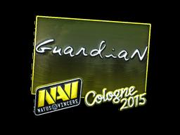 Наклейка   GuardiaN (металлическая)   Кёльн 2015