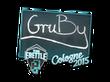 Sticker GruBy   Cologne 2015