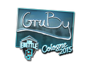 Sticker | GruBy (Foil) | Cologne 2015