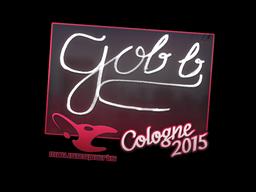 gob b | Cologne 2015