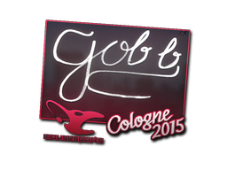 Наклейка | gob b | Кёльн 2015