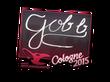 Sticker gob b   Cologne 2015