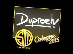 Наклейка   dupreeh   Кёльн 2015