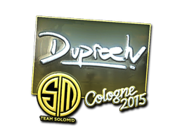Sticker | dupreeh (Foil) | Cologne 2015