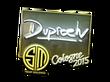 Sticker dupreeh (Foil) | Cologne 2015