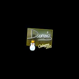 Sticker   dennis (Foil)   Cologne 2015