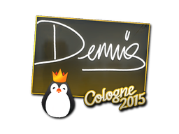 Naklejka | dennis | Kolonia 2015