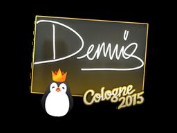 Наклейка | dennis | Кёльн 2015
