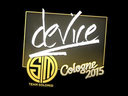 Sticker | device | Cologne 2015