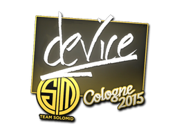 Наклейка | device | Кёльн 2015