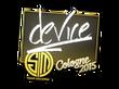 Sticker device   Cologne 2015