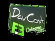 Sticker DavCost | Cologne 2015