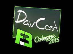Наклейка | DavCost | Кёльн 2015