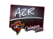 Sticker AZR (Foil) | Cologne 2015