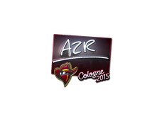 Skin Sticker | AZR (Foil) | Cologne 2015