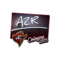 Sticker | AZR <br>(Foil) | Cologne 2015