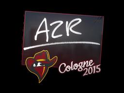 Наклейка | AZR | Кёльн 2015