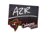 Skin Sticker | AZR | Cologne 2015