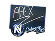 Sticker apEX | Cologne 2015