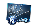 Sticker | apEX (Foil) | Cologne 2015