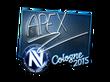 Sticker apEX (Foil) | Cologne 2015