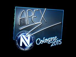 Наклейка | apEX (металлическая) | Кёльн 2015