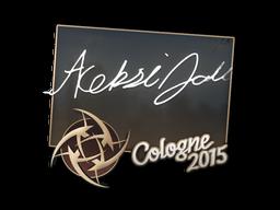 Наклейка | allu | Кёльн 2015