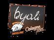 Sticker byali | Cologne 2015