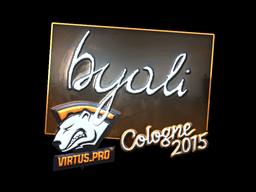 byali | Cologne 2015