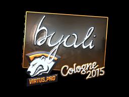 Наклейка   byali (металлическая)   Кёльн 2015