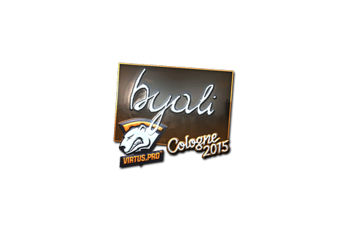Sticker | byali (Foil) | Cologne 2015 Prices