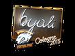 Sticker byali (Foil) | Cologne 2015