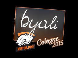Наклейка | byali | Кёльн 2015