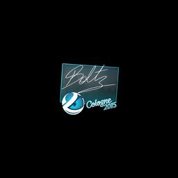 Sticker   boltz   Cologne 2015