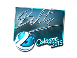 Sticker | boltz (Foil) | Cologne 2015