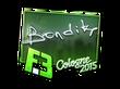 Sticker bondik (Foil) | Cologne 2015