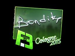 Наклейка | bondik (металлическая) | Кёльн 2015