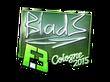 Sticker B1ad3 (Foil) | Cologne 2015