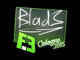 Наклейка | B1ad3 | Кёльн 2015