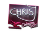 Skin Sticker | chrisJ (Foil) | Cologne 2015