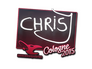 Skin Sticker | chrisJ | Cologne 2015